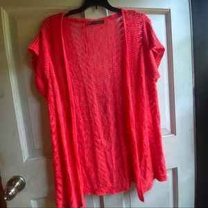 Maurices sweater, Size 1X, Coral color